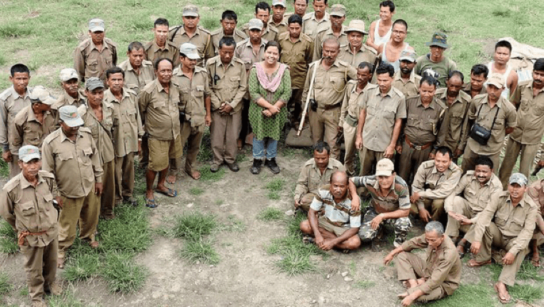 Forest guards in India