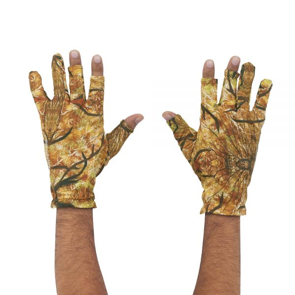 Wild Voyager Camouflage Photography Gloves