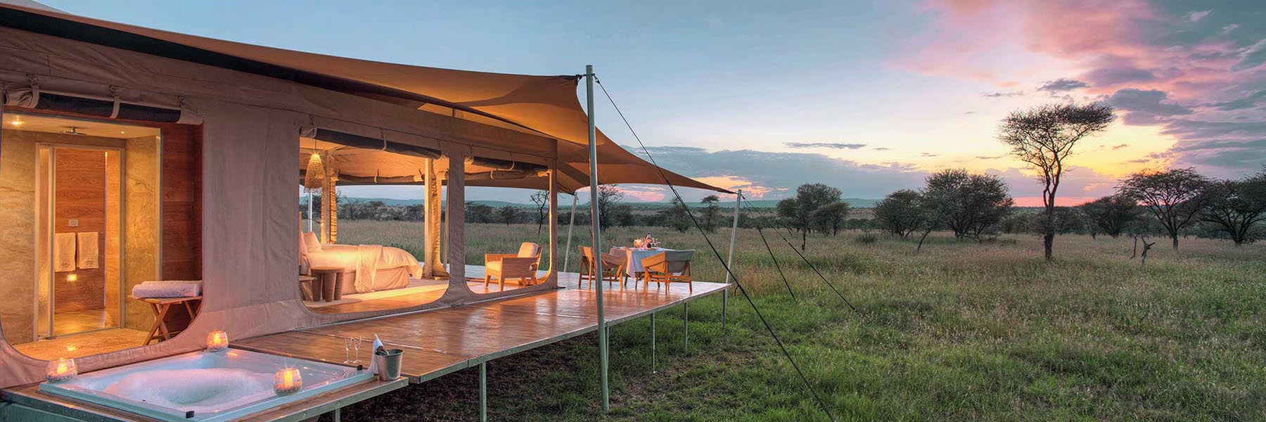 Stay in the finest wildlife resorts