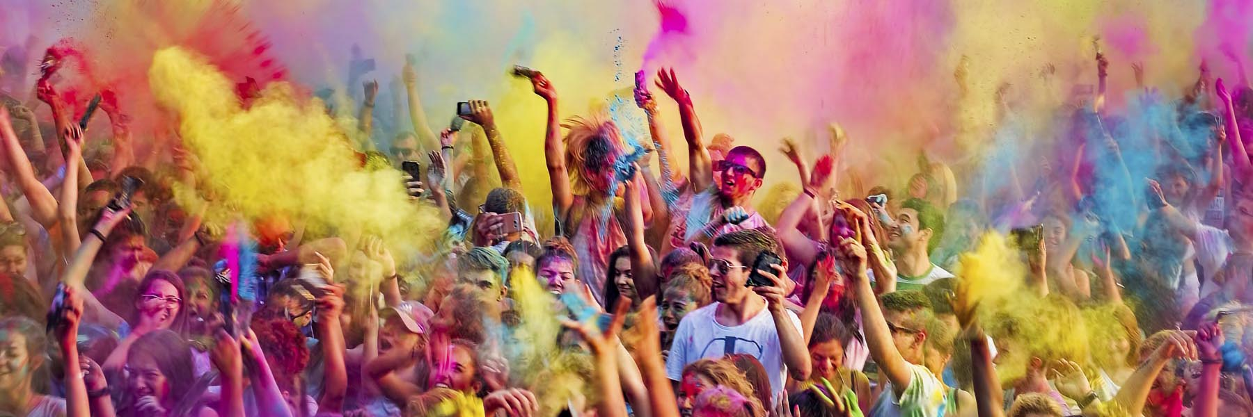 Holi festival with Rajasthan