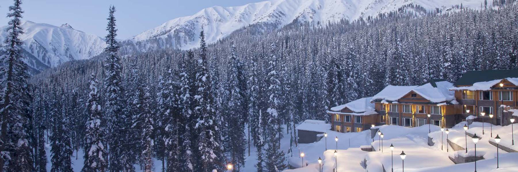 Stay in the best mountain resorts