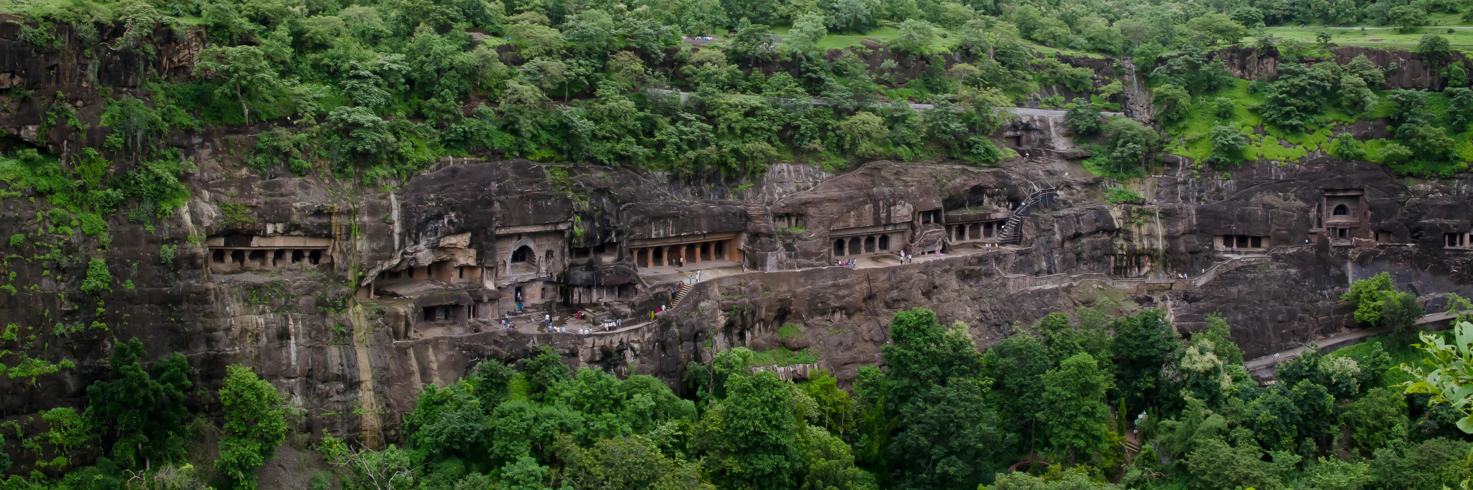 Cave Temples and Mumbai