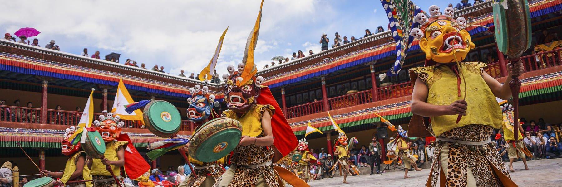 Hemis Festival in Ladakh