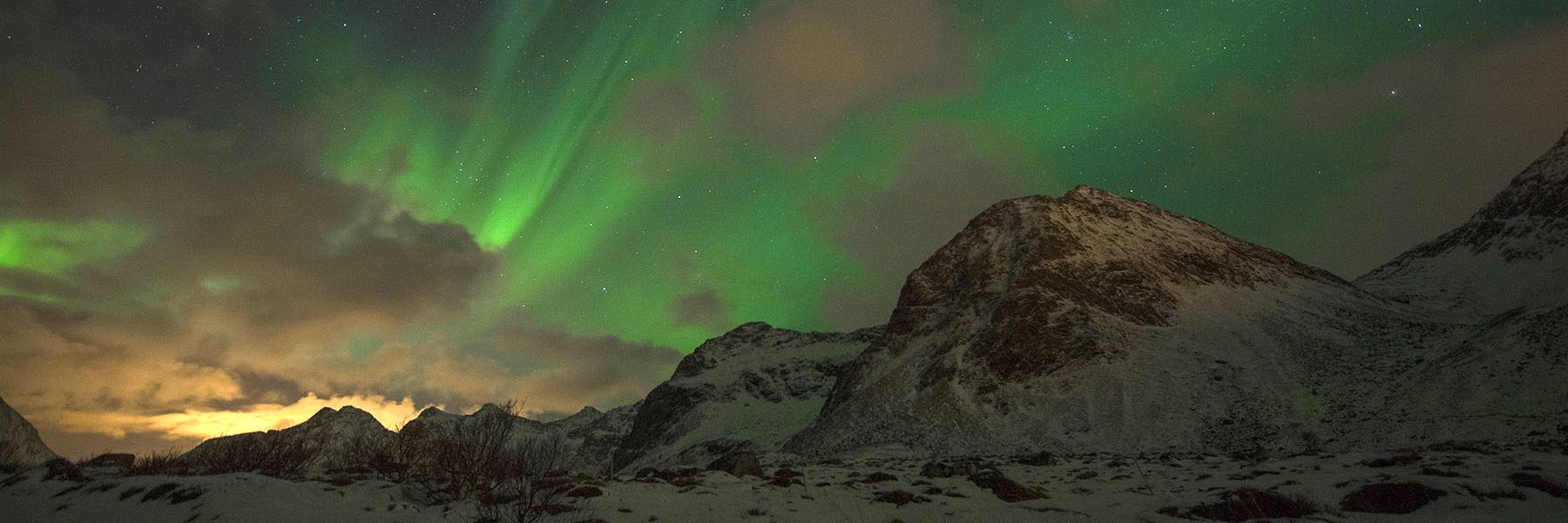 Chasing Northern Lights
