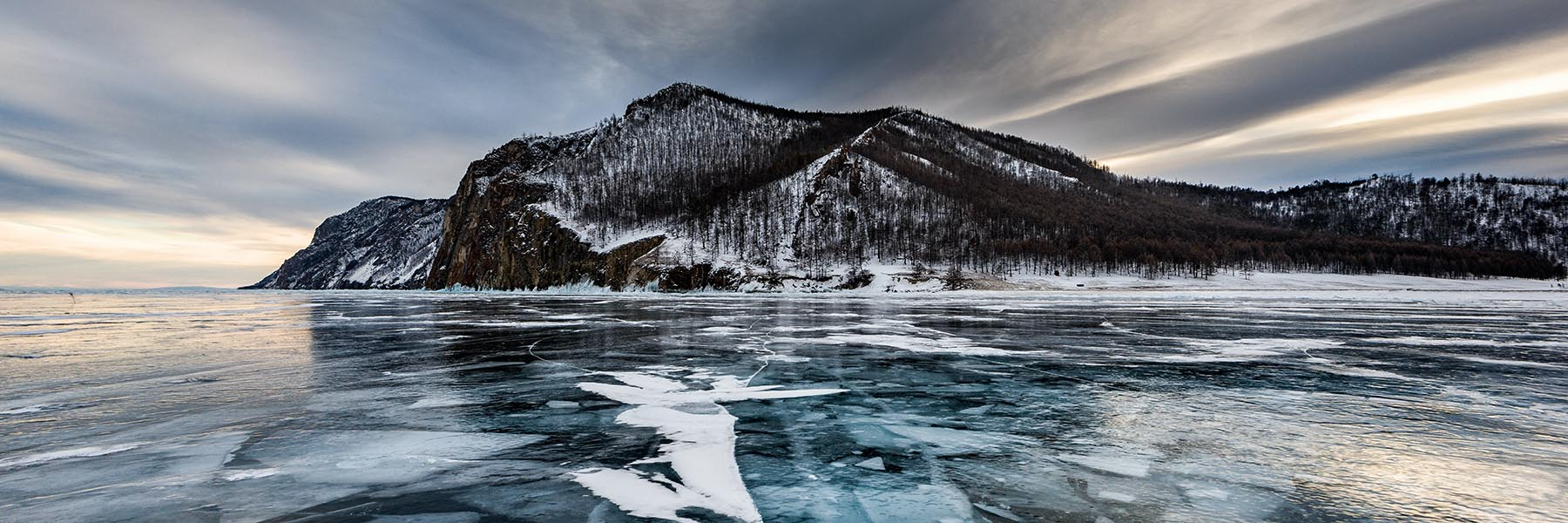 lake baikal trekking