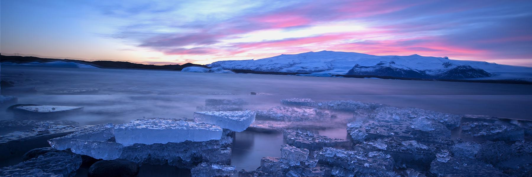 Ice Beach and Jokulsarlon