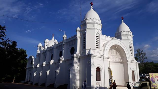 st. peters church in thanjavur, tamil nadu