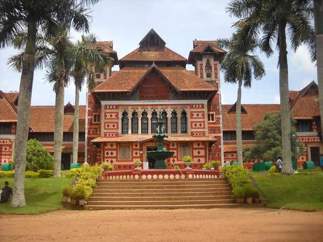 shri chitra art gallery in tiruvananthpuram kerala