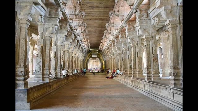 jambukeswarar temple in Tiruchirapalli, Tamil Nadu