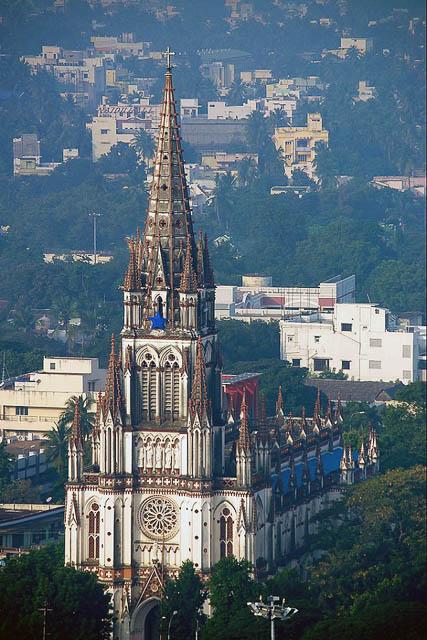St. Lourdes Church in Trichy,Tamil Nadu