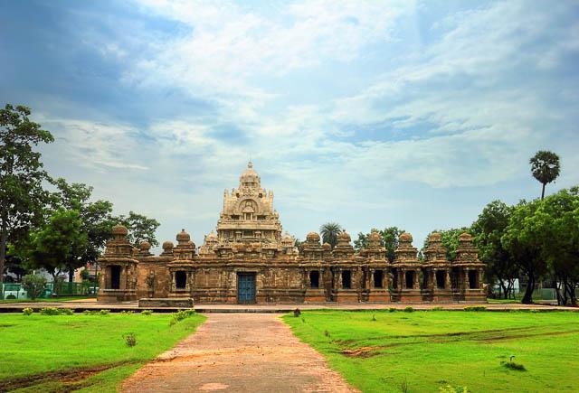 Kanchi Kailasanathar temple in Kanchipuram, Tamil Nadu