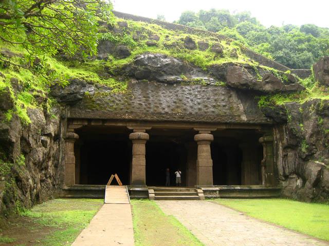 elephanta caves in elephanta island, mumbai, maharashtra