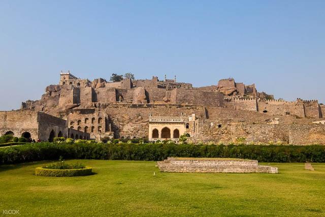 Golconda Fort in Hyderabad, Telangana