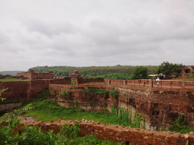 ranthambore fort in sawai madhopur, rajasthan
