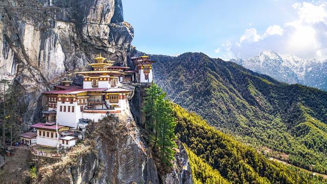 taktshang goemba tigers nest monastry, bhutan