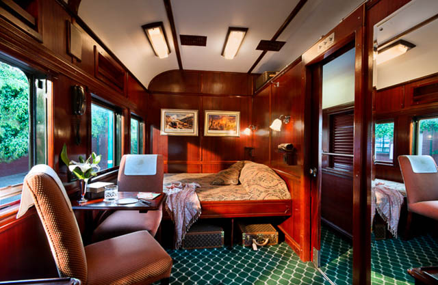 inside of rovos luxury train