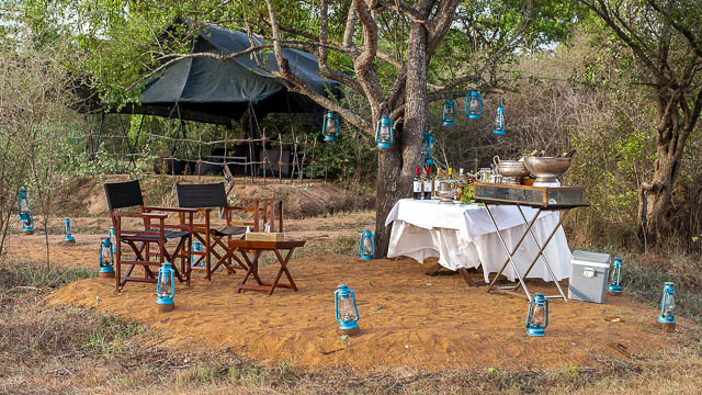 leopard trails camp in wilpattu national park, sri lanka