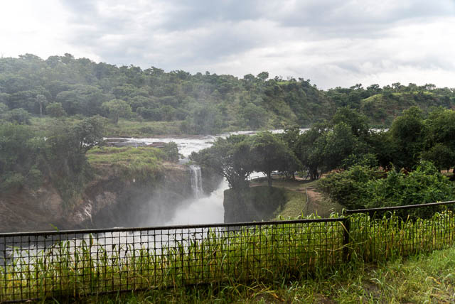 top of murchison falls in uganda