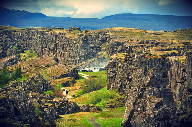 thingvellir national park landscape