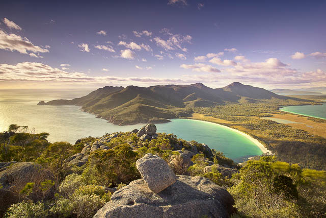 mount amos in Freycinet National Park