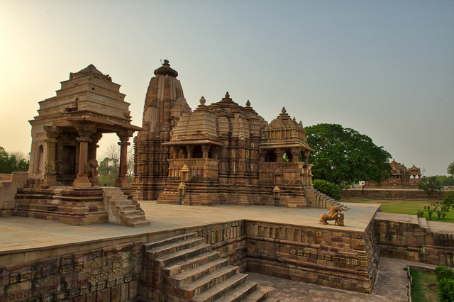 eastern group of temples Khajuraho India
