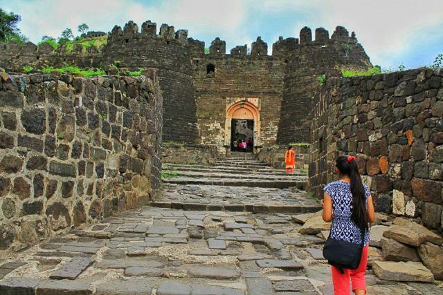 Daulatabad fort Aurangabad Maharashtra India