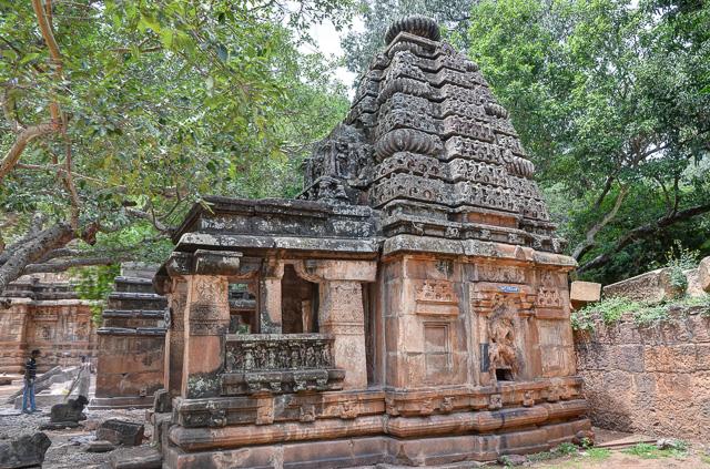 Mallikarjuna group of temples Badami Karnataka India