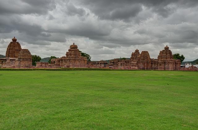 Pattadakal temple complex Badami Karnataka India