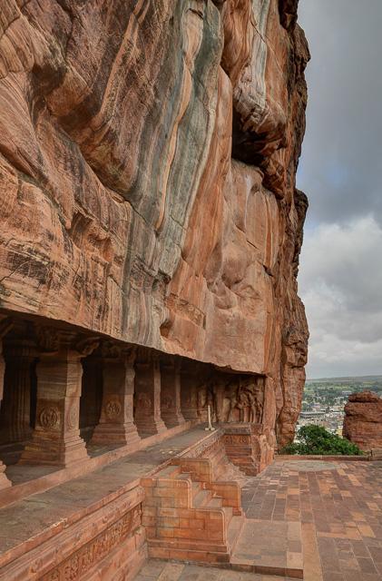 Badami cave temples Karnataka India