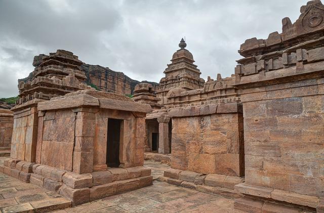 Badami temples Karnataka India