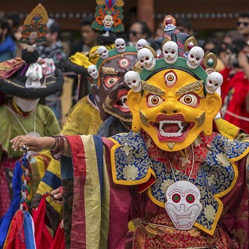 Hemis Festival in Ladakh tour