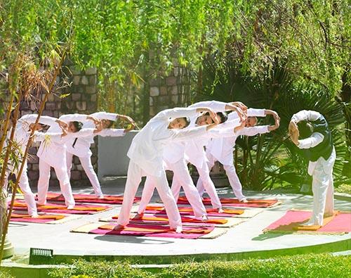 Golden triangle tour with yoga tour